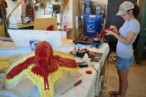Chasing Waxes - Savides Sculpture Sculpting Process Casting Process