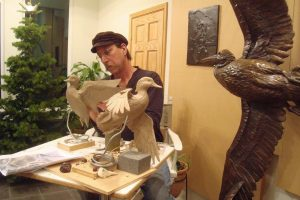 Sculpting Studio - Savides Sculpture Sculpting Process Casting Process