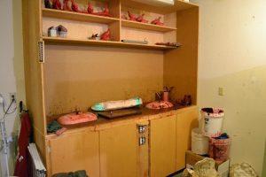 Wax Pouring Station - Savides Sculpture Sculpting Process Casting Process