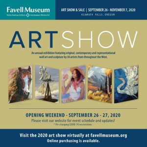 Favell Museum Art Show & Sale 2020 September 25-November 7, 2020