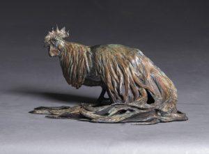 """Cocktail"" - Bantam Phoenix Rooster Bronze"